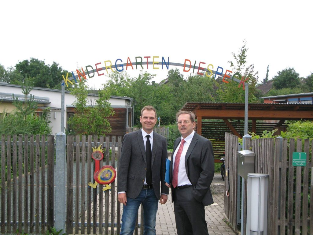4. Sonderinvestitionsprogramm aufgelegt - Gemeinde Diespeck bekommt 90%-Zuschuss